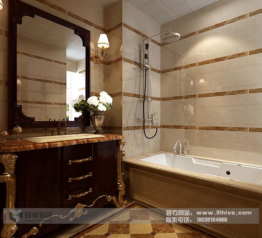 欧式尊享 富丽堂皇|室内设计|空间/建筑|蜂巢家居
