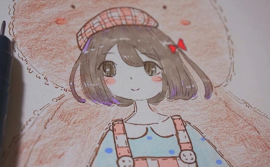 睡觉前的手绘小练习~|其他绘画|插画|milk1016