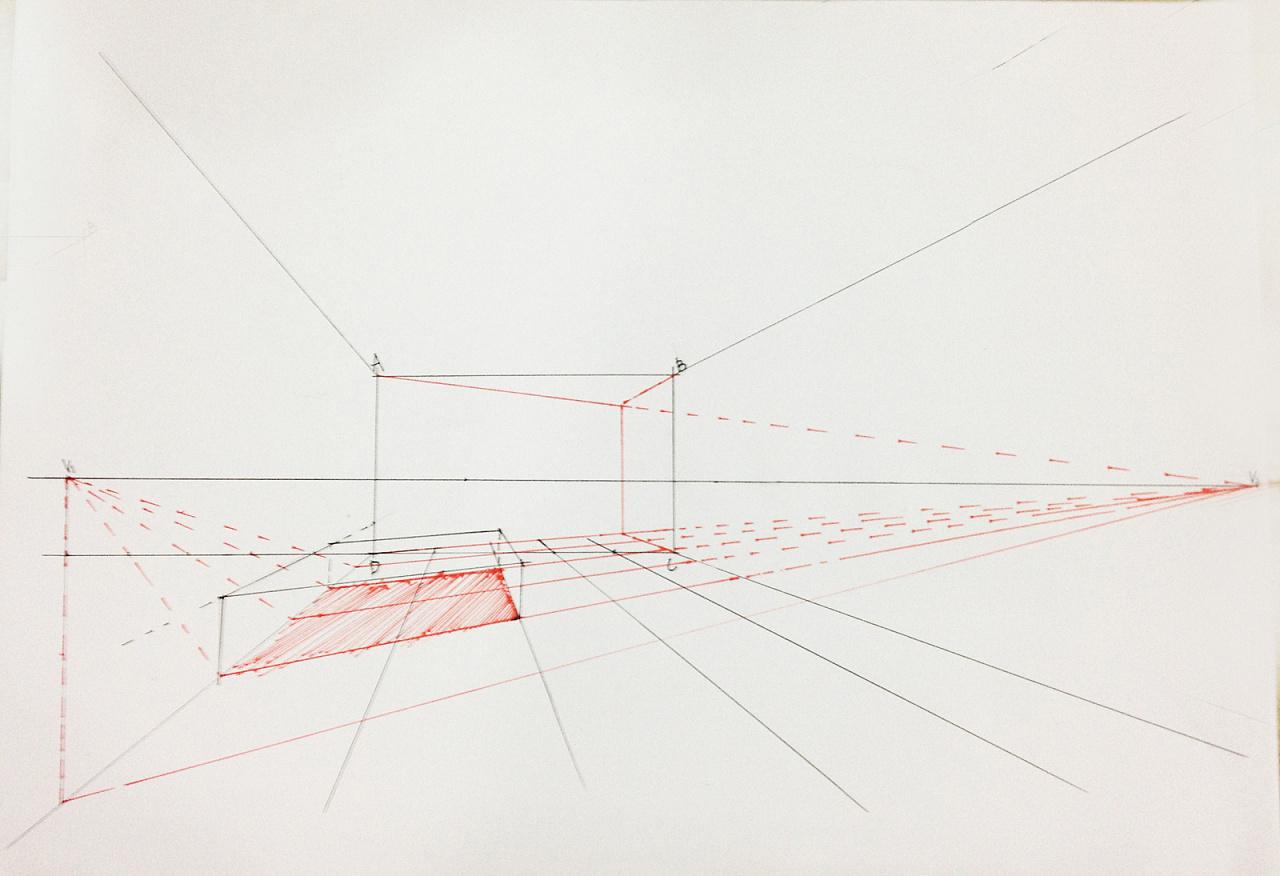 手绘基础 透视的原理 每天发出一份练习,找到方向 空间 室内设计 室内手绘营