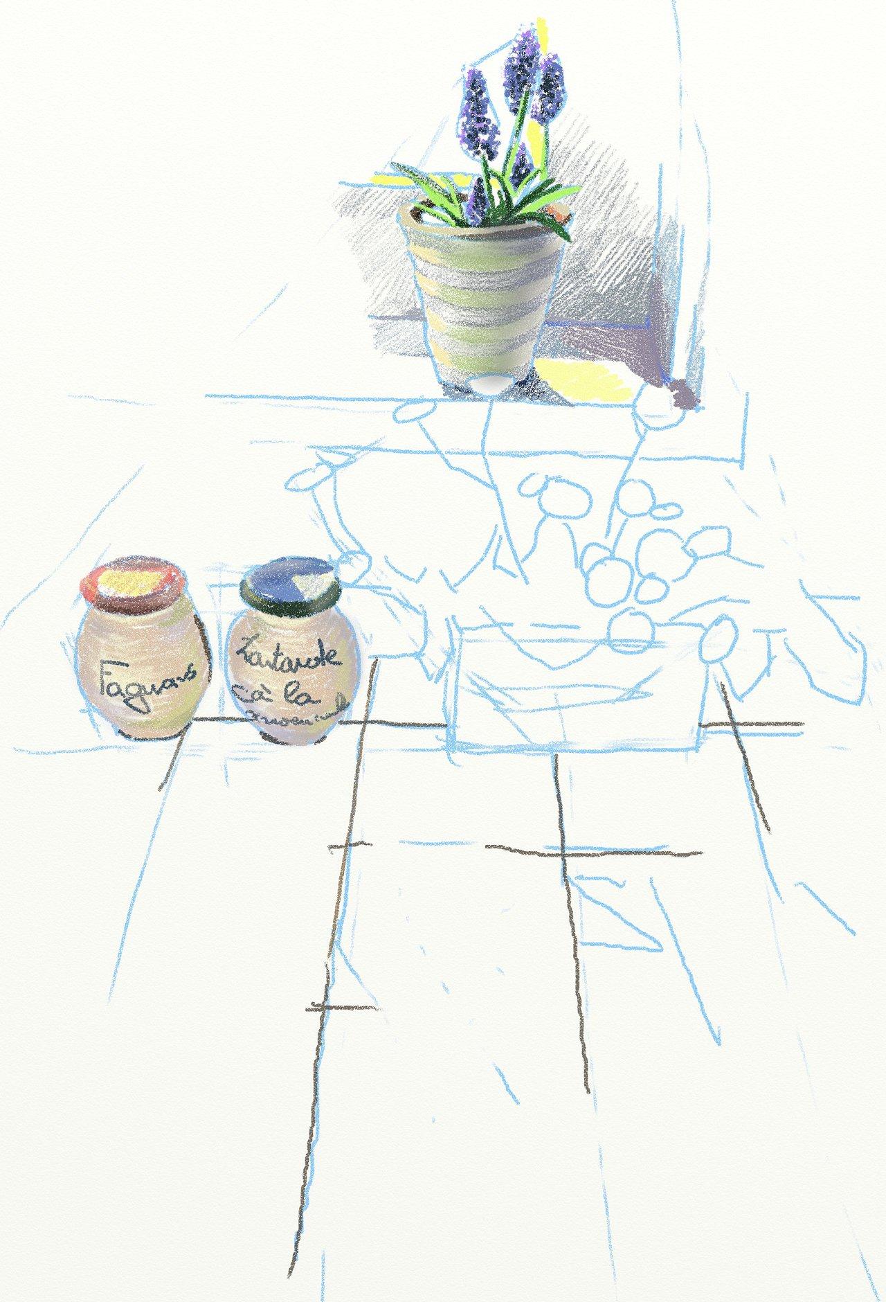 手绘板彩铅练习稿|插画|插画习作|黄三水每东 - 原创