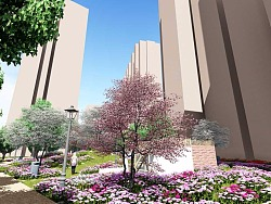 芙落园小区景观设计