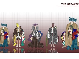 #2020青春答卷#《THE BREAKER》服装设计