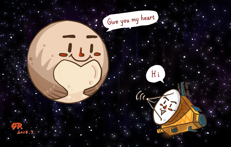 冥王星 图片