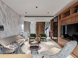 复式楼突破常规设计,将建筑设计与室内设计完美演绎