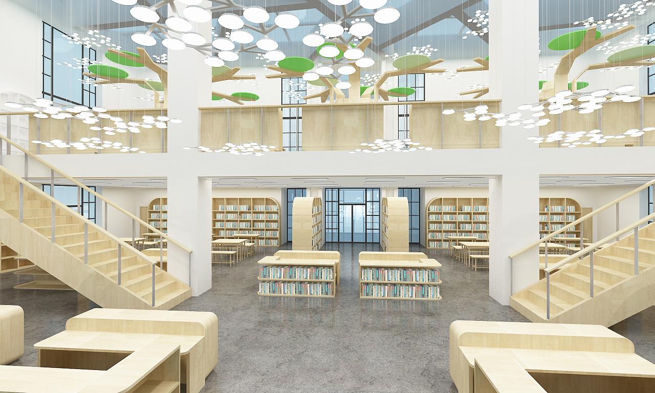 文化中心 图书馆 儿童图书馆|空间|室内设计|dshang