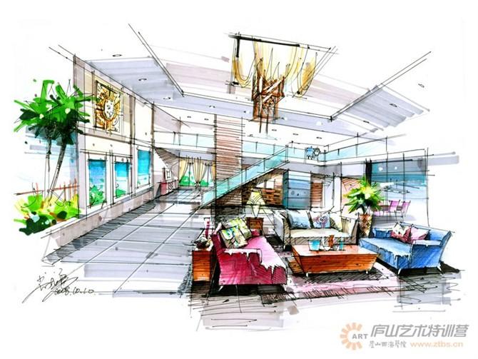 【庐山艺术特训营】尚院长手绘作品