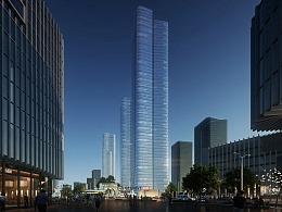 Aedas横琴国际商务中心二期-大横琴大厦   Lumion动画