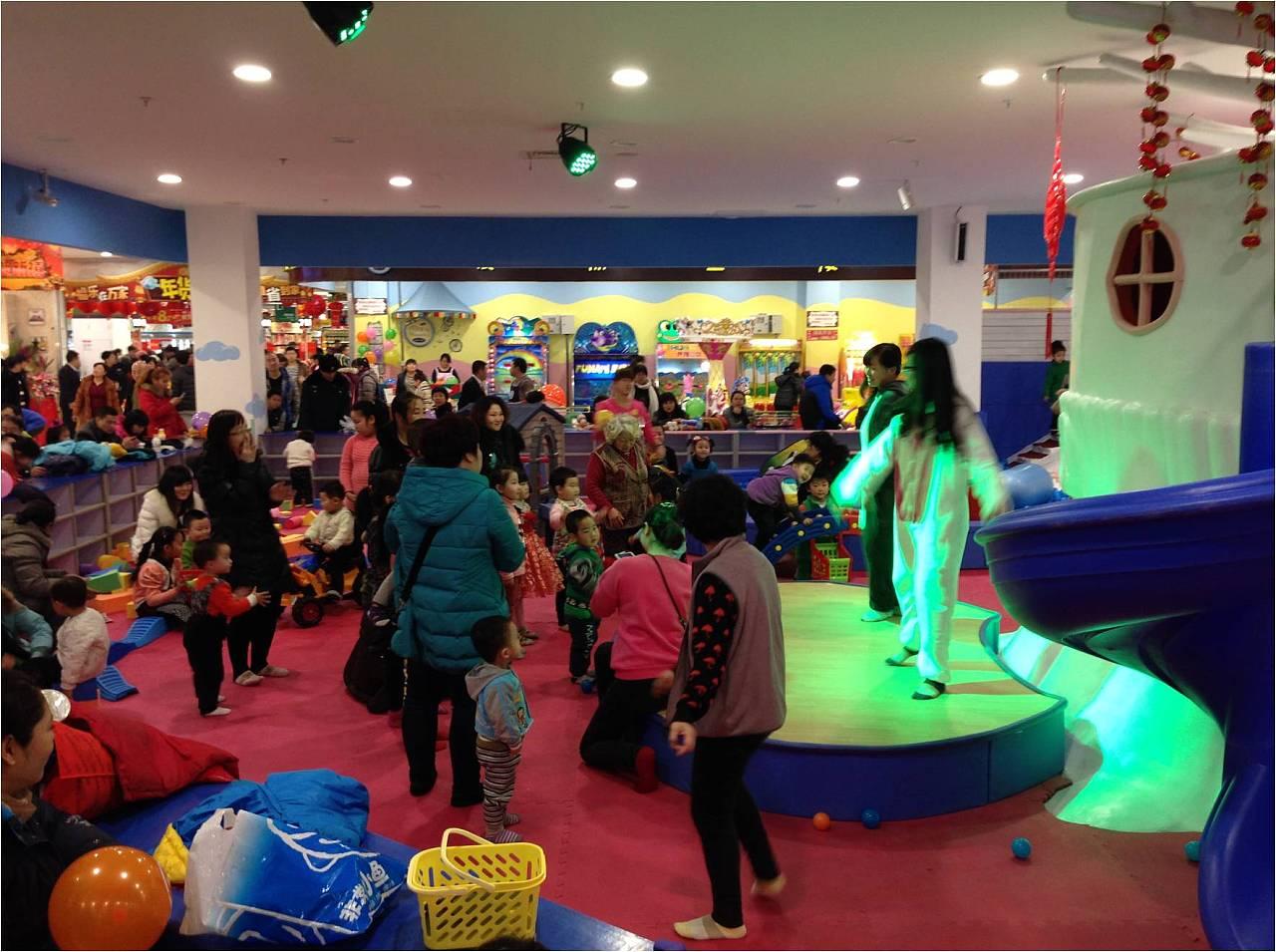沈阳欢乐跳儿童主题游乐场|空间|室内设计|楠锅