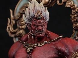 末那x斗战神丨系列手办第21弹《金刚伏魔》
