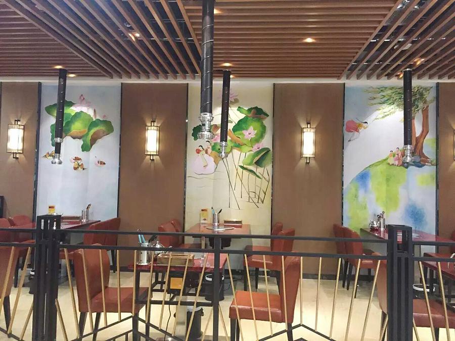 广州,佛山手绘墙画,墙体彩绘,3d立体画