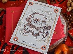 ·PIG·KI·RIN·猪·麒·麟·新神兽担当-letterpress