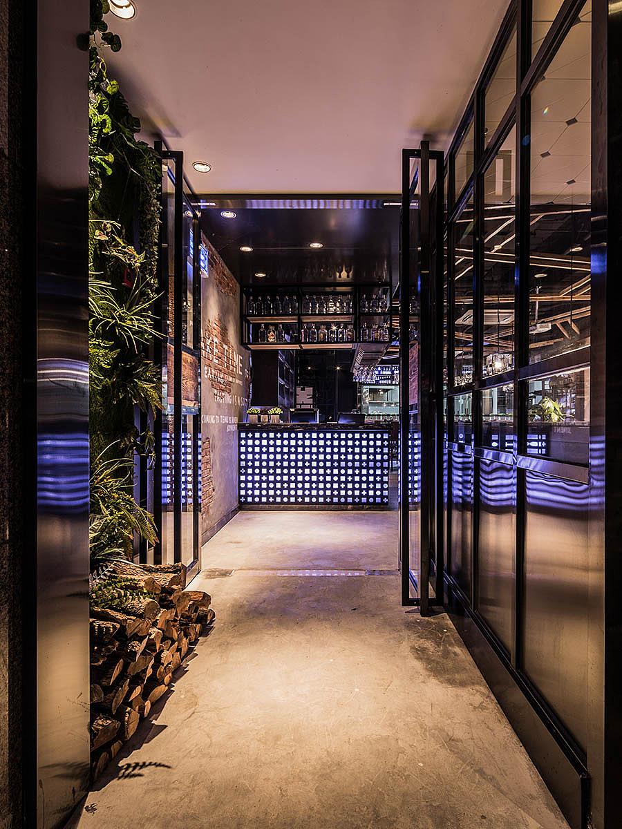 烧烤店 · 餐饮空间设计_特幕烤肉 杭州店