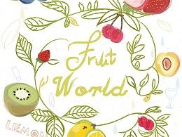 想要去夏天-fruit world