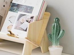 V型书架|Bamboo Drawer