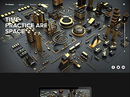 城市场景建模渲染(个人练习)