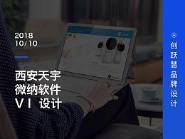 西安天宇微纳软件VI设计