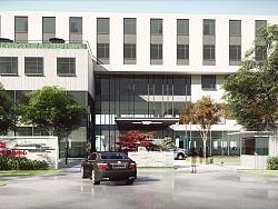 医院景观方案效果图表现 lumion