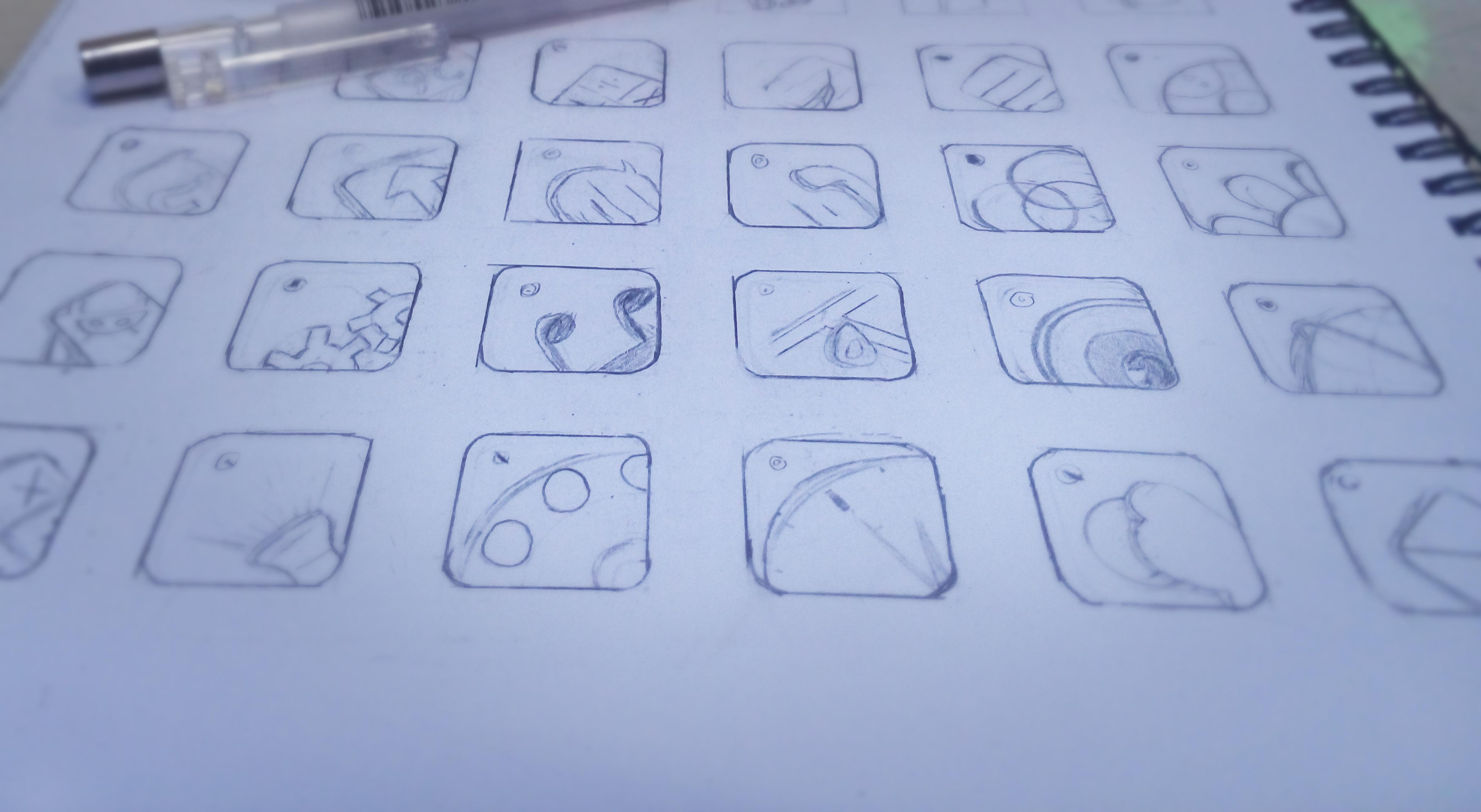 简单手绘键盘图