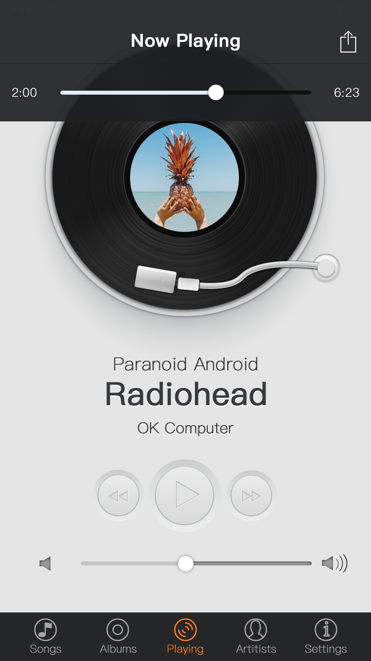 音乐播放界面图片