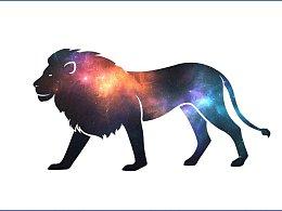18个动物星空重叠图形妙趣