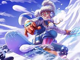 冰雪节同人-艾克