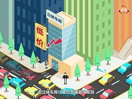 MG动画/飞碟说/产品宣传片【易停车库】