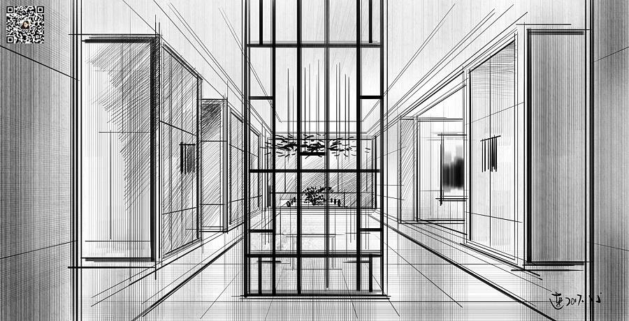 室内设计方案教程|室内设计|空间|纯粹手绘连柏慧