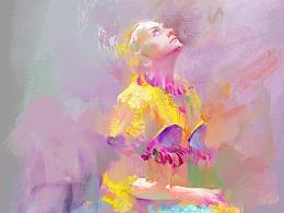 色彩强化练习篇 ——A高饱和颜色练习方法