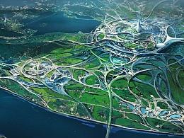 """湖南卫视《我是未来》——""""未来杭州""""概念图"""