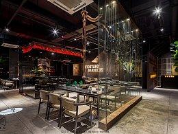 妙香山韩式烤肉 公共空间设计