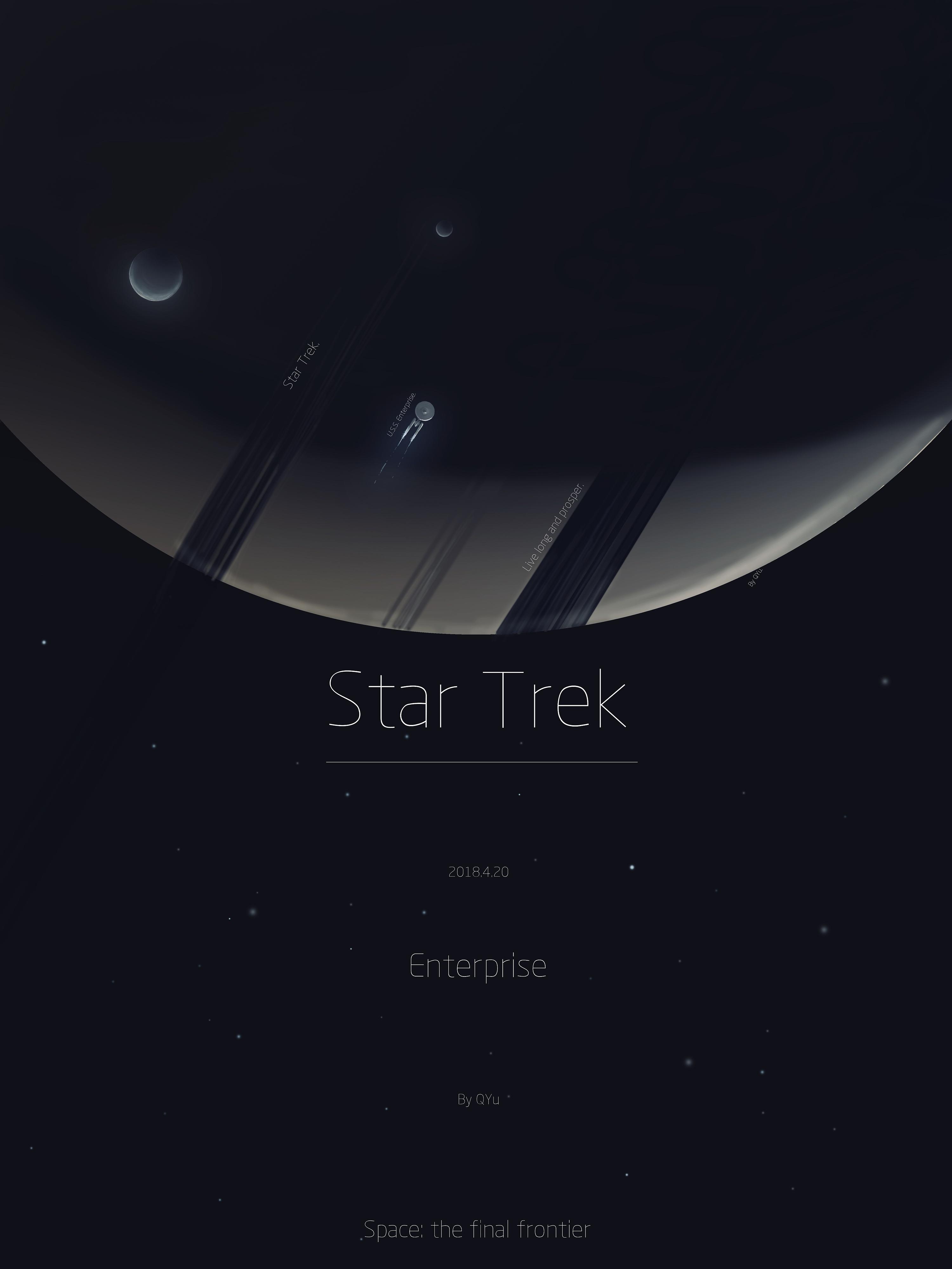 星际迷航12_关于星际迷航的海报 平面 海报 QYuu - 原创作品 - 站酷 (ZCOOL)
