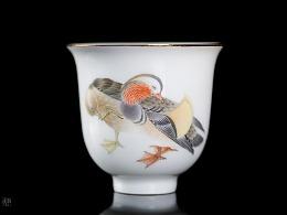 馨浓情深 陶瓷新彩单杯