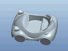 【CREO】玩具车 | 高级曲面