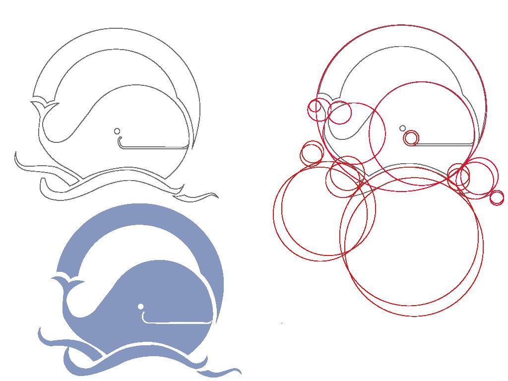 临摹的logo