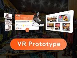 可交互VR原型Demo
