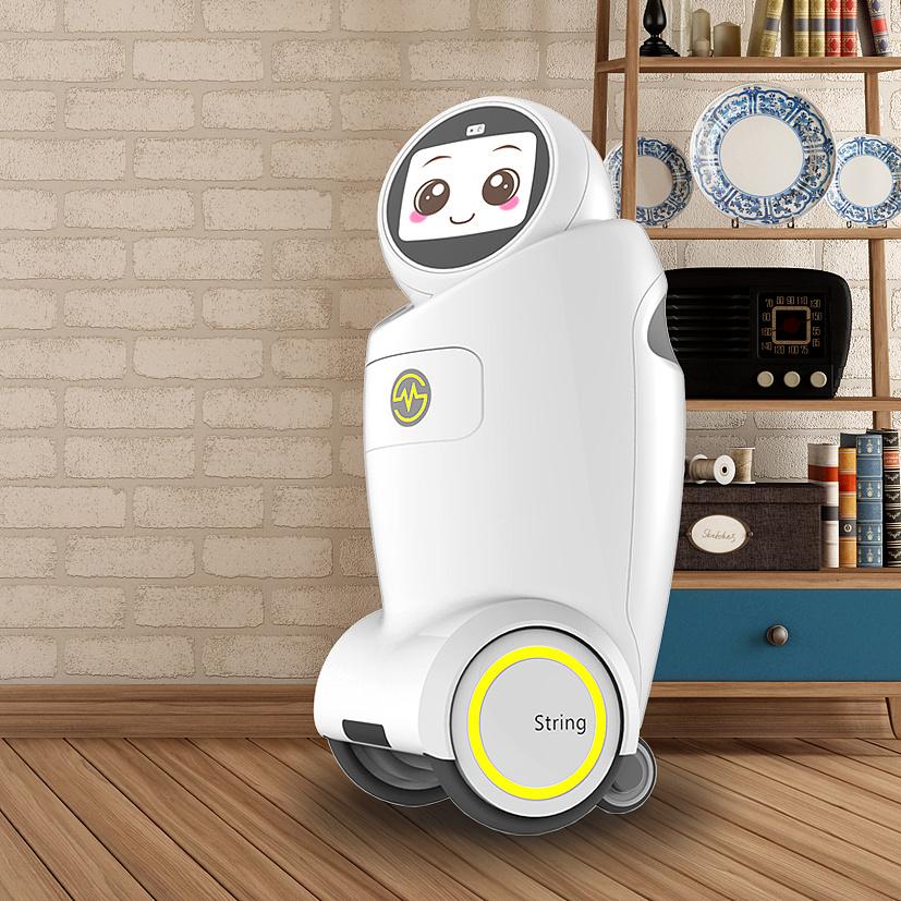 智能陪护机器人外观和交互设计图片