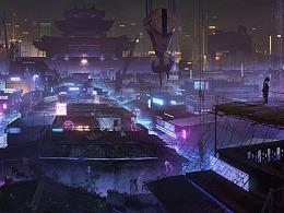 《Cyberpunk城市-揭阳》
