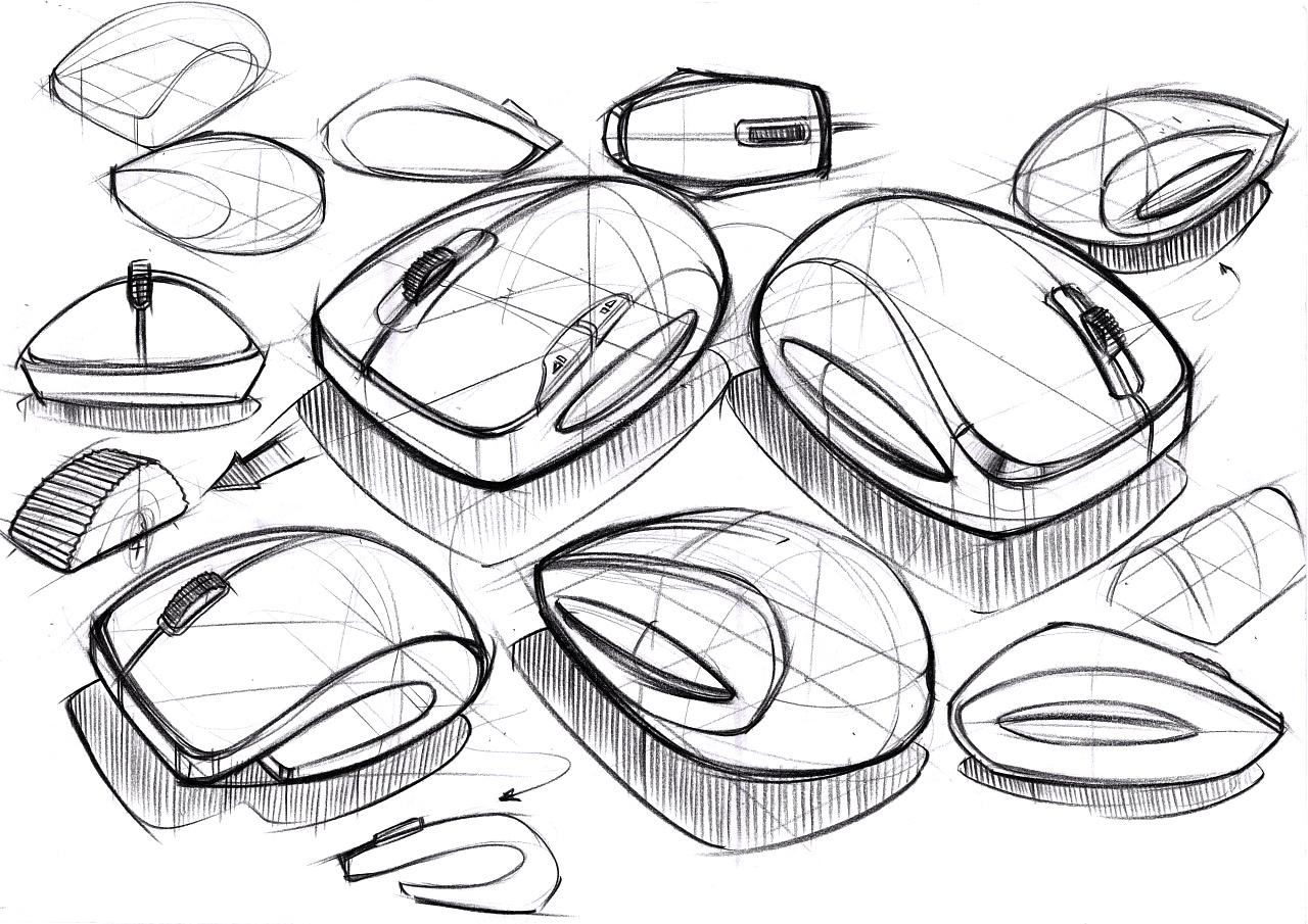工业产品手绘_工业产品设计设计手绘【四】|工业/产品|电子产品|洪祎霖Hong ...