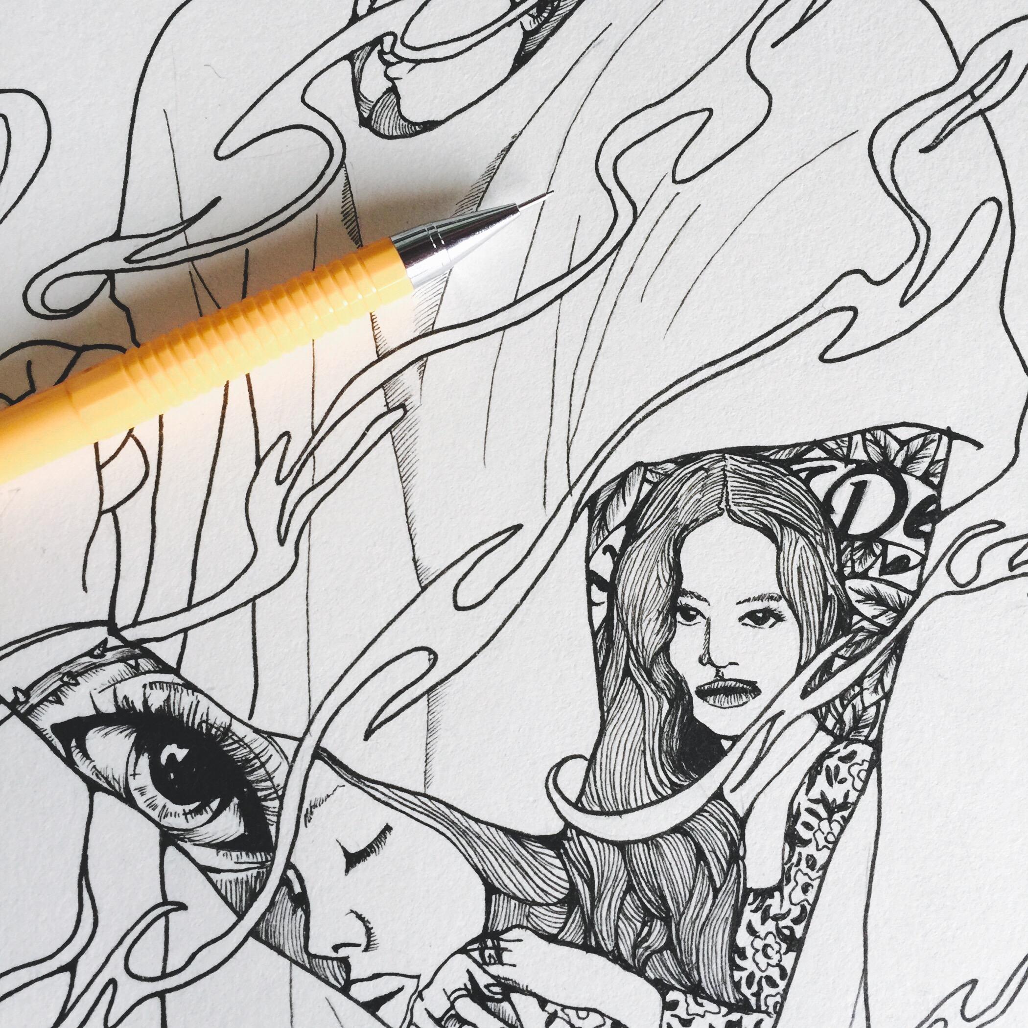 动漫 简笔画 卡通 漫画 手绘 头像 线稿 2100_2100