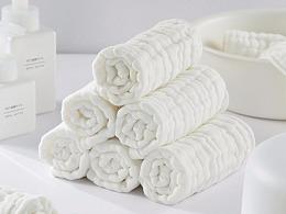 【小田的世界】婴儿产品,浴巾面巾+棉签