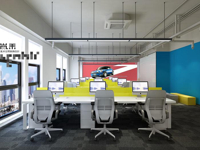 案例应用软件办公室装修设计汽车效果图|室内设计泼水节教学设计图片