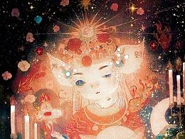 新春快乐~猪猪财神图~