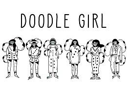 女孩Doodle风系列