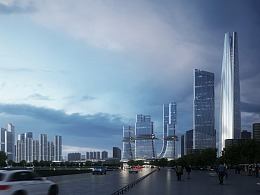城市模拟游戏?Aedas 国际竞赛方案   lumion极速动画