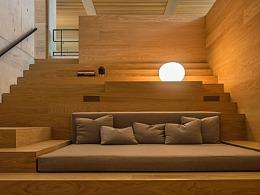 日式清水模-实验室改造混凝系阁楼设计