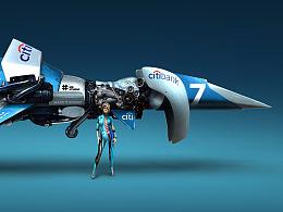 STUCK-概念飞船设计-Citibank