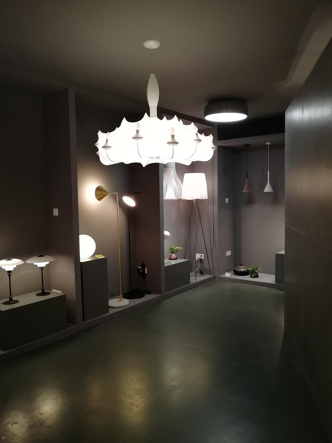 展厅平面设计图_杭州大厦FLOS灯具展厅|空间|室内设计|室内设计工作者 - 原创作品 ...