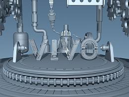 机械字模型