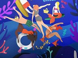 泳装节海报设计