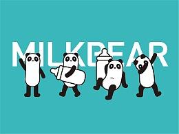 MILKBEAR奶熊 2019品牌升级